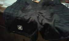 PANTALONCINI SHORT VINTAGE FOOTBALL GOALKEEPER PORTIERE. BLACK SIZE L UHLSPORT
