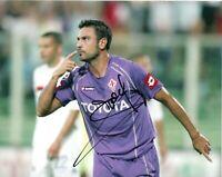 Foto Autografo Calcio Stefano Fiore - Asta di Beneficenza Soccer Signed Sport