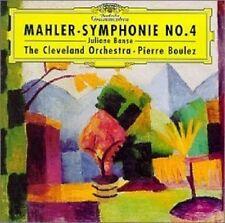 JULIANE BANSE/PIERRE BOULEZ/CLO - GUSTAV MAHLER-SINFONIE 4  (CD) NEU