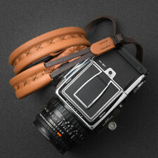 Deadcameras XL Leather shoulder camera strap - For Hasselblad Pentax67 & Others
