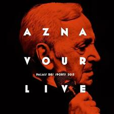 Aznavour, Charles-AZNAVOUR LIVE: Palais des Sports 2015-CD NUOVO // 0