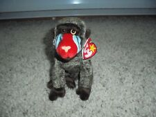 Ty Beanie Baby Babies ~ CHEEKS the Baboon Monkey~ NEW ~ ALL MUST GO - Clearance