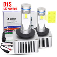 2X D1S LED Headlight Kit CSP Bulb 70W 11000LM White 6000K Superbright High Power