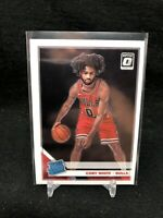 Coby White 2019-20 Donruss Optic #180 Rated Rookie Rookie Chicago Bulls AC44