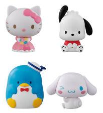 Bandai Capchara Sanrio Characters 5 Gashapon Figure set 4 pcs