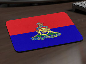 THE ROYAL ARTILLERY PERSONALISED MOUSE MAT