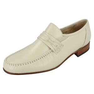 Mens Grenson Leather Moccasin slip on shoes ORLANDO