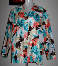 Millers Women's Long Sleeve Sleeve Polyester Button Down Shirt Tops & Blouses