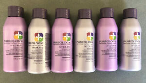 Pureology Hydrate Shampoo and Conditioner 1.7 oz (6 pack) - Travel Size