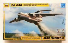 Zvezda 1/144 scale IL-76 TD RUSSIAN transport aircraft