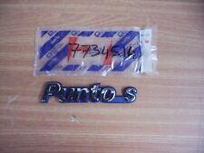 Emblem Punto S fits Fiat Punto S 7734514 Genuine