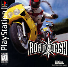 Road Rash PS1 Great Condition Complete Fast Shipping
