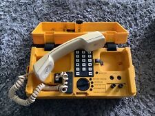 More details for untested bt telephone 286a yelow engineers phone in case chesilvale electronics