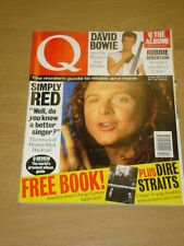 Q MUSIC MAG 61 OCT 1991  SIMPLY RED BOWIE DIRE STRAITS
