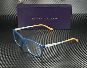 RALPH LAUREN RL6133 5465 Blue Demo Lens 54 mm Men's Eyeglasses