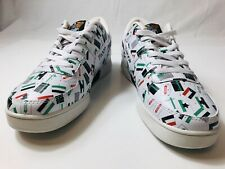 NEW World of Troop Crown Flag Men's Shoes Multicolor Sneakers Trainers US 9.5