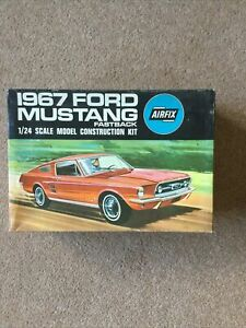 Airfix 1/24 1967 Ford Mustang Fastback