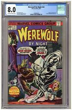 Werewolf by Night 32 (CGC 8.0) Origin and 1st appearance of Moon Knight B589