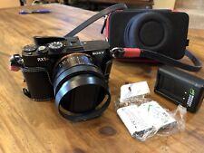 Sony Cyber-shot DSC-RBB2 24.3MP Digital Camera - Black RX1R with Extras