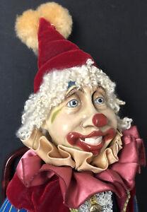 "Original Wayne Kleski 17"" Clown Doll"