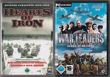 War Leaders Clash Of Nations + Hearts of Iron Sammlung PC Spiele