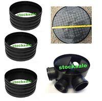 320mm Manhole Inspection Chamber Manhole  - Base, 3 Riser, Cover & Frame