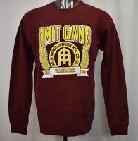 OMIT Apparel Mens Skateboarder Brand Omit Gang Crew Shirt Sweathshirt New L