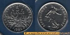 FDC - 5 Francs Semeuse 1982 FDC 27 500 Exemplaires Scéllée provenant coffret FDC