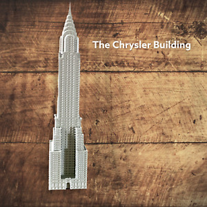 Chrysler Building Model Scaled 100% Accurate Multiple Sizes Available And Colors