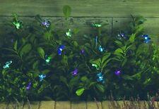 Solar Lichterkette mit 20 Schmetterlingen Garten