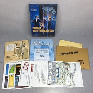 James Bond 007 The Man With The Golden Gun Victory Games RPG #35013 Complete
