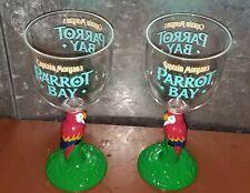 Set of 2 Captain Morgan Parrot Bay Parrot Plastic Glasses