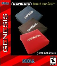 Sega Genesis model 2 system dust covers