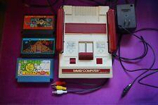 MODDED - Nintendo Classic Mini Family Computer Famicom Video Console NES 3 GAMES