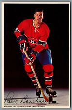 Postcard 1970s Montreal Canadiens #26 Pierre Bouchard - Pro Star Promotions