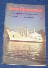 SEA BREEZES DECEMBER 1978 VOLUME 52 NUMBER 396 - CHINA OF 1896