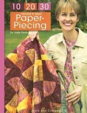 10-20-30 Minutes to Learn Paper Piecing  (Leisure Arts #3932)-ExLibrary