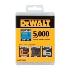 Dewalt 3/8-inch Heavy Duty Staples 5000 Pack 20521