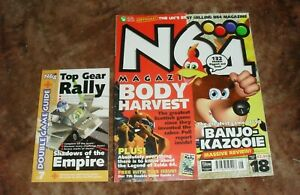 N64 Magazine Issue 18 with cover book
