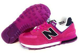 Las mejores ofertas en Zapatos Atléticos New Balance 574 Rosa para ...