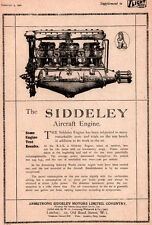 1920  AD SIDDELEY  ENGINE AEROPLANE AEROENGINES BEARDMORE