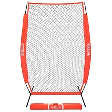 GoSports 7' x 4' I-Screen | Baseball & Softball Pitcher Protection Net