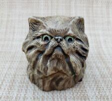 Harmony Kingdom 2002 Pot Bellys Amethyst Cat Mini Trinket Box Figure