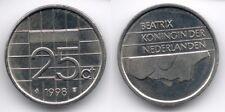 Netherlands : 25 Cent 1998