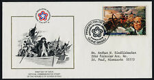 Guinea-Bissau 360B on addressed FDC - Washington Crossing the Delaware