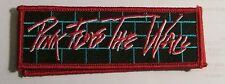 PINK FLOYD COLLECTIBLE RARE VINTAGE PATCH EMBROIDED  METAL LIVE