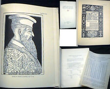 1930 ULRICO HOEPLI  AUTOGRAPHES DESSINS ANCIENS MANUSCRITS AVEC MINIATURES LIVRE