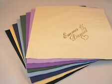 100 x Personalised napkins for any occasion