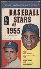 BASEBALL STARS of 1955, Lion PPB 12 - Mays/Berra Cover