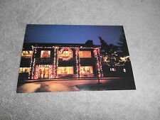 VINTAGE - POST CARD -FESTIVAL OF LIGHTS - OGLEBAY - WHEELING W. VA